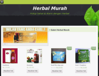 herbalmurah.co screenshot