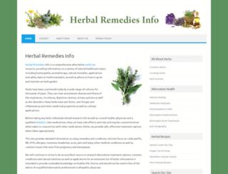 herbalremediesinfo.com screenshot