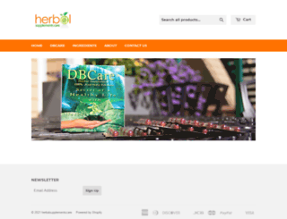 herbalsupplementscare.com screenshot
