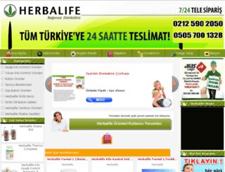 herbalurun.com screenshot