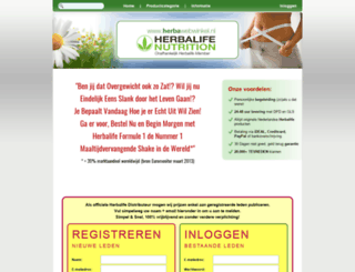 herbawebwinkel.nl screenshot