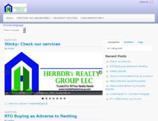 herbdrrealtygroup.com screenshot