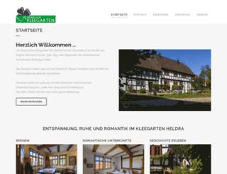 herberge-im-kleegarten.de screenshot