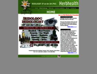 herbhealth.co.za screenshot