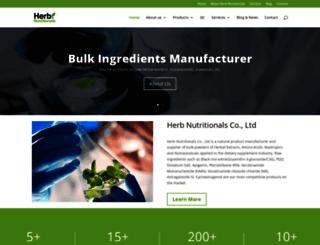 herbnutritionals.com screenshot