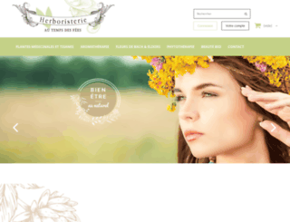 herboristerie-grenoble.com screenshot