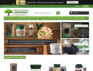 herboristerie-larmignat.com screenshot
