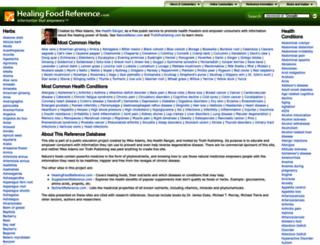 herbreference.com screenshot