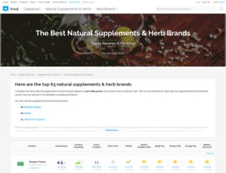 herbs-herbal-supplements.knoji.com screenshot
