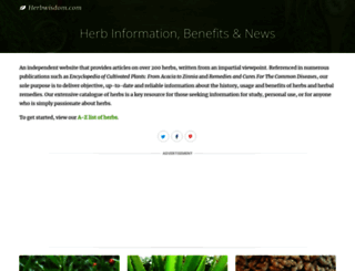 herbwisdom.com screenshot
