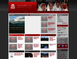 hercegbosna.org screenshot