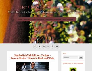 herclosetconfession.wordpress.com screenshot