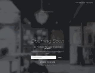 herdbefore.com screenshot