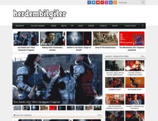 herdembilgiler.com screenshot