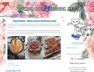 herdingcats-burningsoup.blogspot.com screenshot