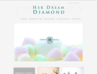 herdreamdiamond.com screenshot
