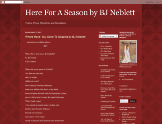 hereforaseason.blogspot.com screenshot