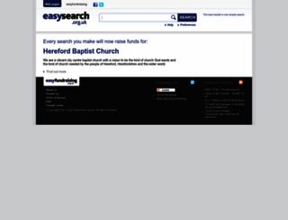 herefordbc.easysearch.org.uk screenshot