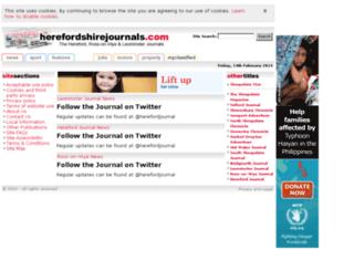 herefordshirejournals.com screenshot