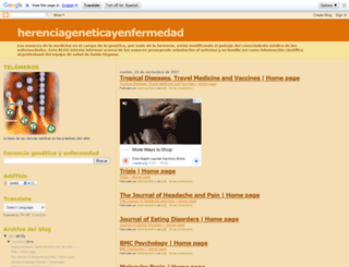 herenciageneticayenfermedad.blogspot.com screenshot