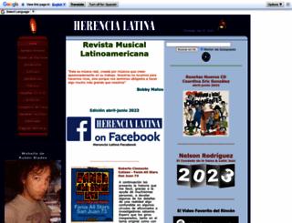 herencialatina.com screenshot