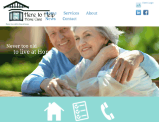 heretohelphomecare.com.au screenshot