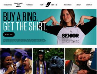 herffjones.com screenshot
