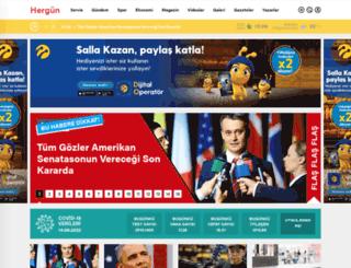hergungazetesi.com.tr screenshot