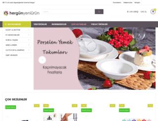 hergunyeniurun.com screenshot