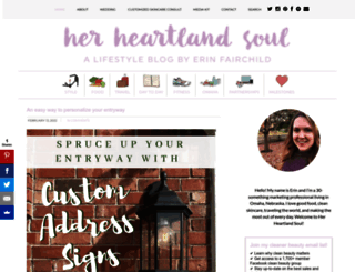 herheartlandsoul.com screenshot