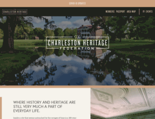 heritagefederation.org screenshot
