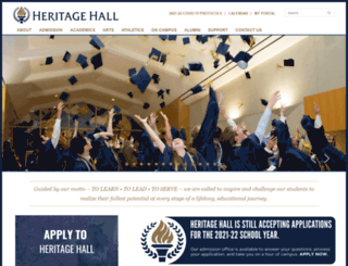 heritagehall.com screenshot