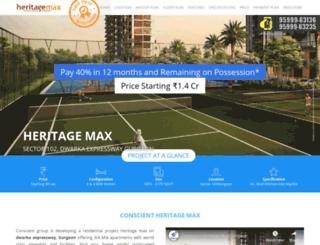 heritagemax.net screenshot