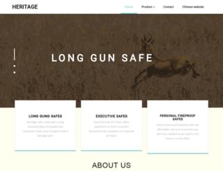 heritagesafe.com screenshot