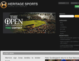 heritagesportscontests.eu screenshot