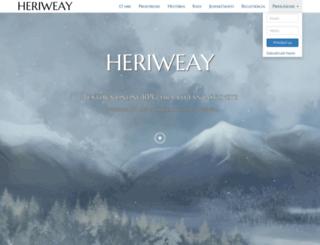 heriweay.sk screenshot