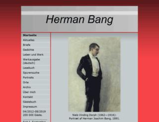 herman-bang.de screenshot