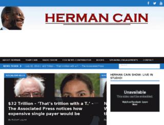 hermancainchannel.com screenshot
