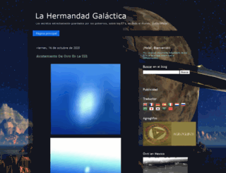 hermandad-galactica.blogspot.com screenshot