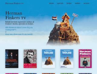 hermanfinkers.nl screenshot