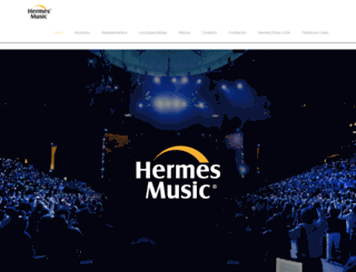 hermes-music.com.mx screenshot