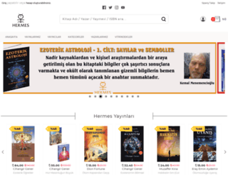 hermeskitap.com screenshot