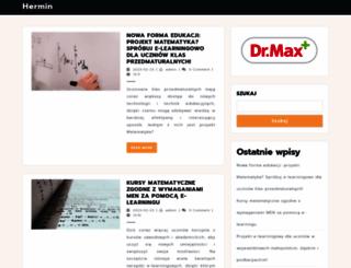 hermin.edu.pl screenshot