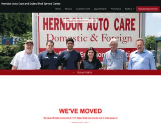 herndonautocare.com screenshot