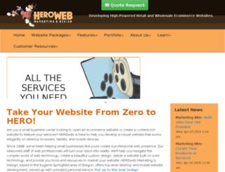 hero-web.com screenshot
