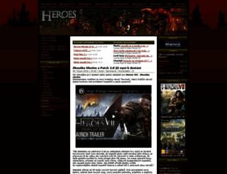 heroes-centrum.com screenshot