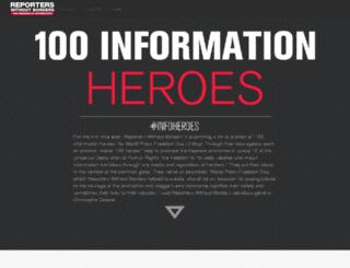 heroes.rsf.org screenshot
