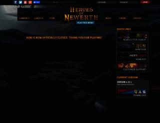 heroesofnewerth.com screenshot