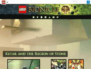 herofactory.com screenshot