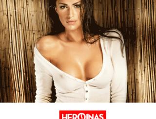 heroinasdelerotismo.com screenshot